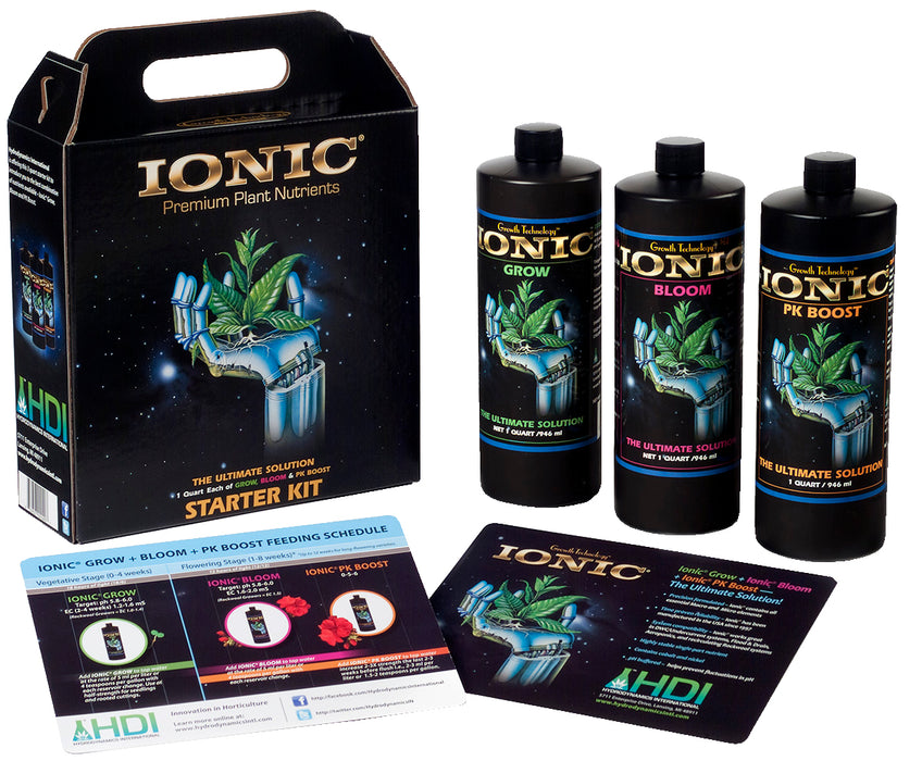 Grow Kings - HydroDynamics™ Ionic® Tote Starter Kit