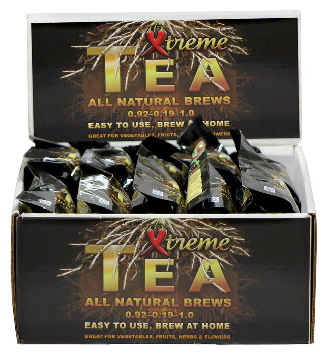 Grow Kings - Xtreme Gardening® Tea Brew Packs Display