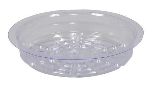 Grow Kings - Gro Pro Premium Clear Plastic Saucer 6 in (50/Cs)