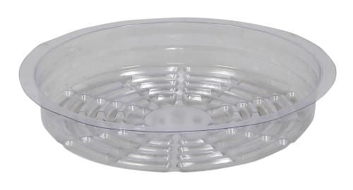 Grow Kings - Gro Pro Premium Clear Plastic Saucer 8 in (50/Cs)