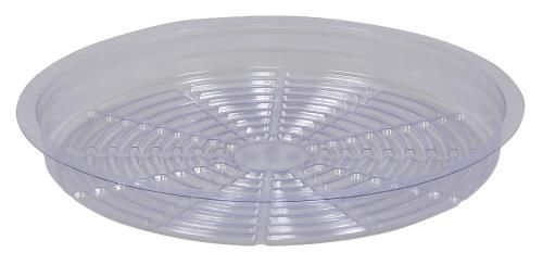 Grow Kings - Gro Pro Premium Clear Plastic Saucer 12 in (50/Cs)