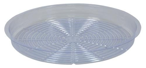 Grow Kings - Gro Pro Premium Clear Plastic Saucer 16 in (25/Cs)