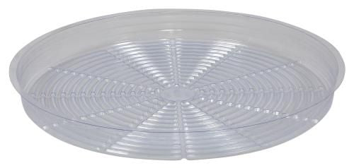 Grow Kings - Gro Pro Premium Clear Plastic Saucer 18 in (25/Cs)