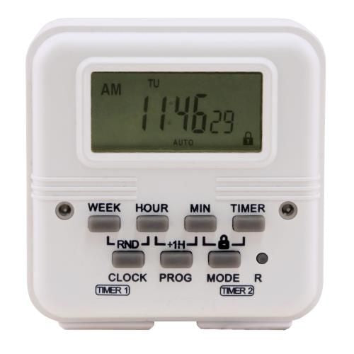 Grow Kings - Titan Controls® Apollo® 18 - Two Outlet Dual Schedule Digital Timer