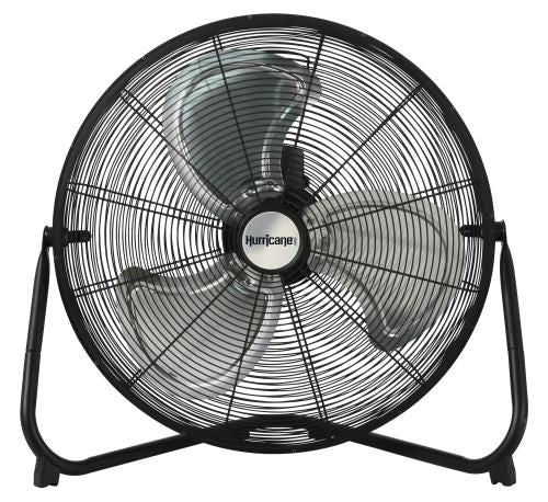 Hurricane Pro High Velocity Metal Floor Fan 20 inch