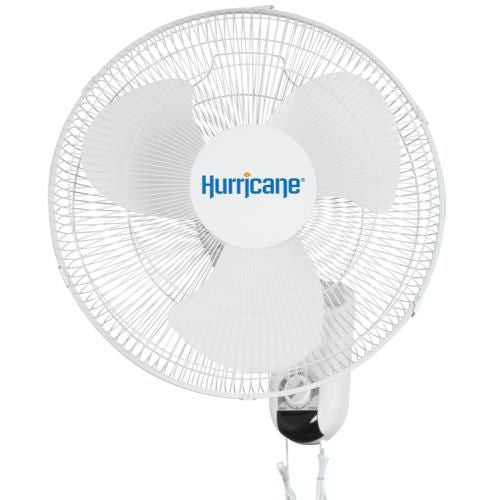 Hurricane Classic Oscillating Wall Mount Fan 16 inch
