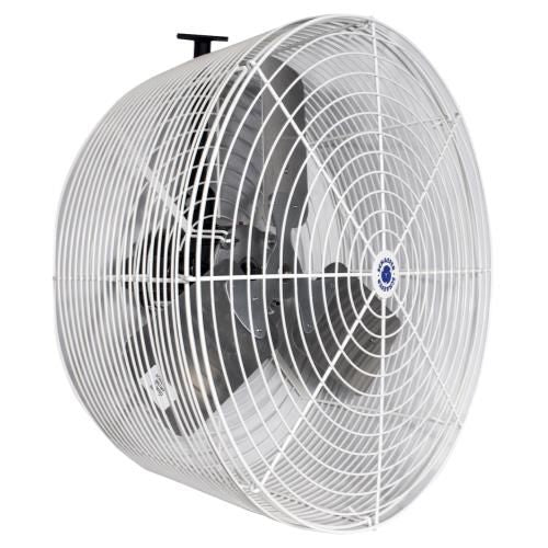 Grow Kings - Schaefer Versa-Kool Circulation Fan 24 in w/ Tapered Guards, Cord & Mount - 7860 CFM