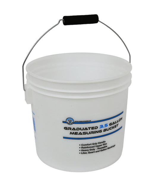 Grow Kings - Measure Master® Graduated Measuring Buckets - 3.5 Gallon