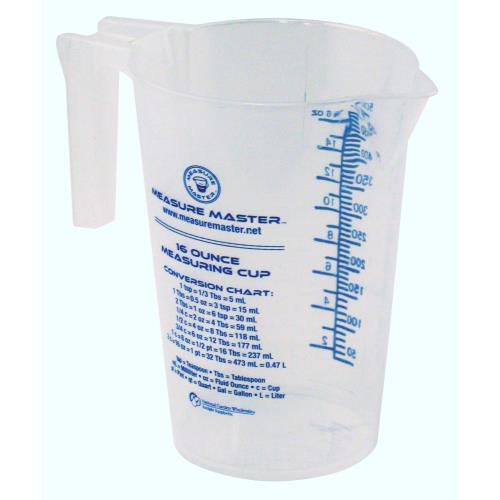 Grow Kings - Measure Master® Graduated Round Containers - 16oz