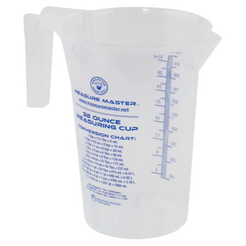 Grow Kings - Measure Master® Graduated Round Containers - 32oz