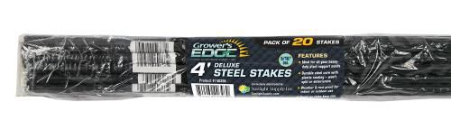 Grower's Edge® Deluxe Steel Stakes