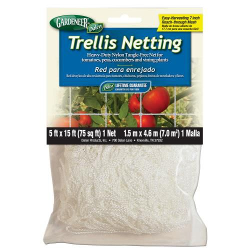 Grow Kings - Gardeneer Trellis Netting 5 ft x 15 ft w/ 7 in Holes (12/Cs)