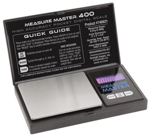 Grow Kings - Measure Master® 400 g High Accuracy Digital Scale