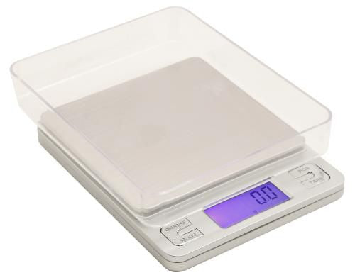 Grow Kings - Measure Master® 3000 g Precision Digital Scale with 2 Trays