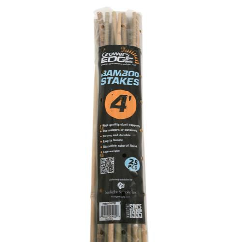 Grower's Edge® Natural Bamboo Stakes