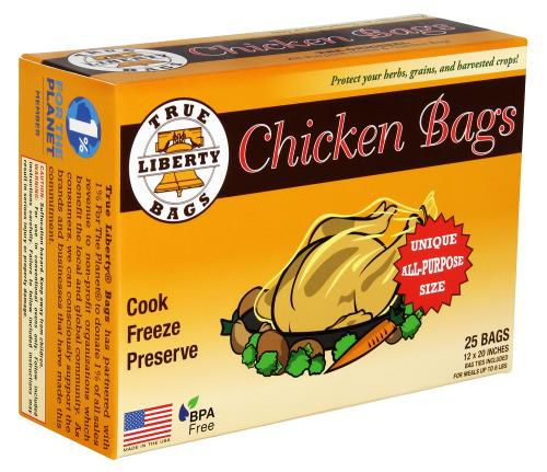 Grow Kings - True Liberty Chicken Bags 12 in x 20 in (25/Pack)