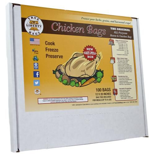 Grow Kings - True Liberty Chicken Bags (100/Pack)