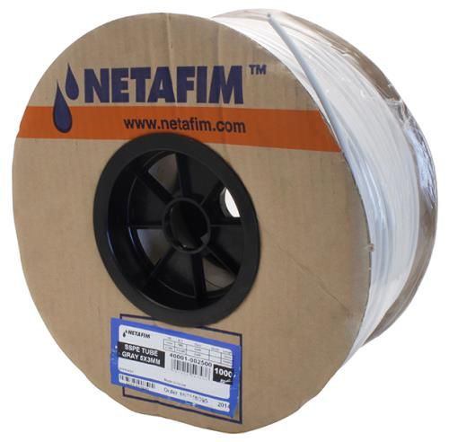 Grow Kings - Hydro Flow®/Netafim Super Flex UV White Polyethylene Tubing 5 mm -1000 ft