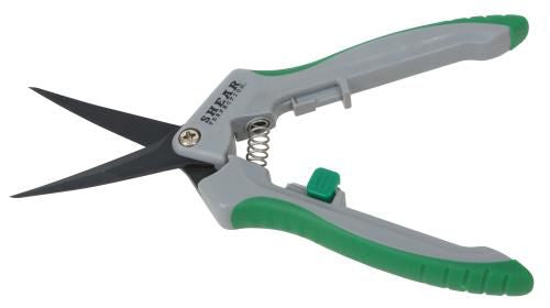 Shear Perfection Platinum Trimming Shear - 2 inch Curved Non-Stick Blades