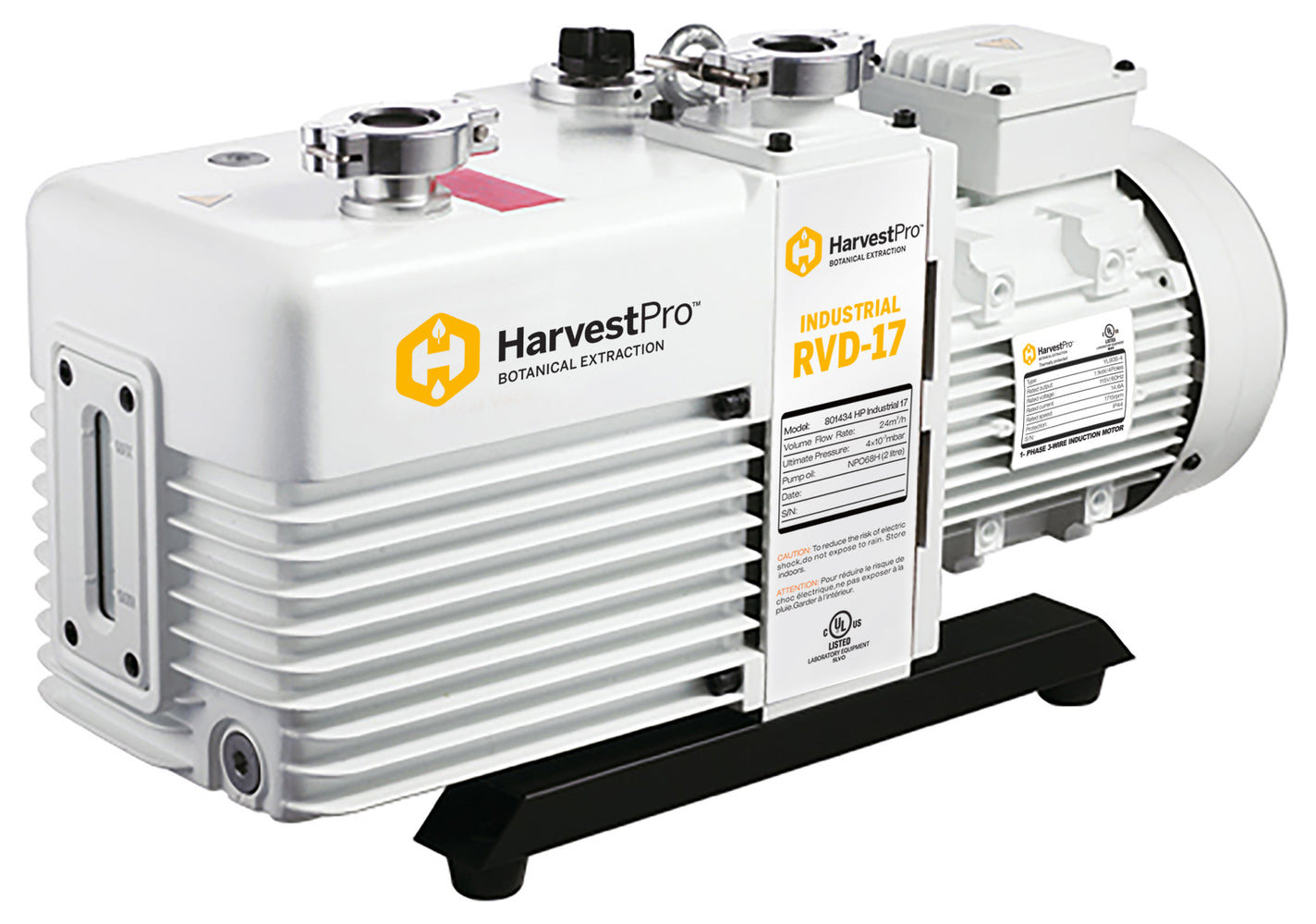 Grow Kings - Harvest Pro Industrial RVD-21 Vacuum Pump - 115 Volt 60 Hz 1 Phase