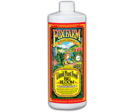 Grow Kings - FoxFarm Big Bloom Liquid Concentrate - 1 qt