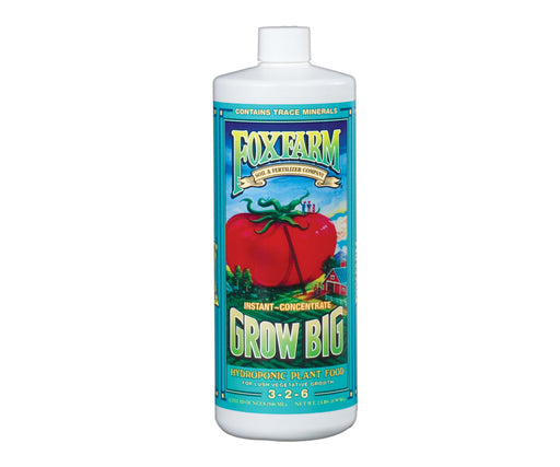 Grow Kings - FoxFarm Grow Big Hydro® Liquid Concentrate - 1 qt