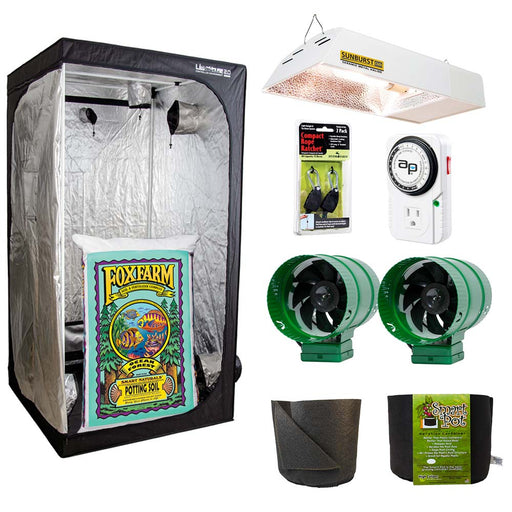 Grow Kings - HF Indoor Soil Grow Kit