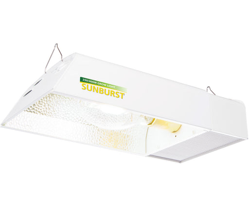 Sunburst HPS/MH Fixture w/Digital Ballast, 250W/400W (No Lamp)