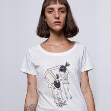 Load image into Gallery viewer, Sick of you Ladies' Scoopneck T-Shirt