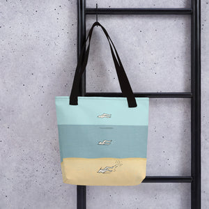 Air, Water & Earth Tote bag