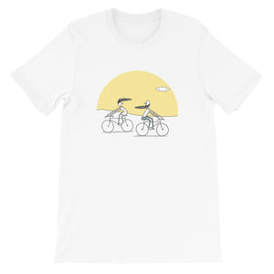 Sunset Cycyling Unisex T-Shirt