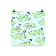 Load image into Gallery viewer, Yoga pizza print