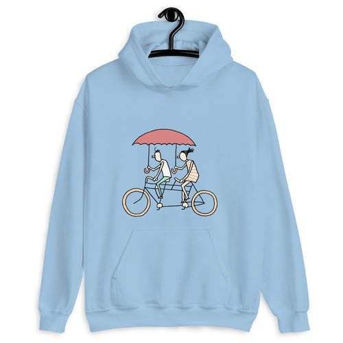 Riders In The Rain - Unisex Hoodie