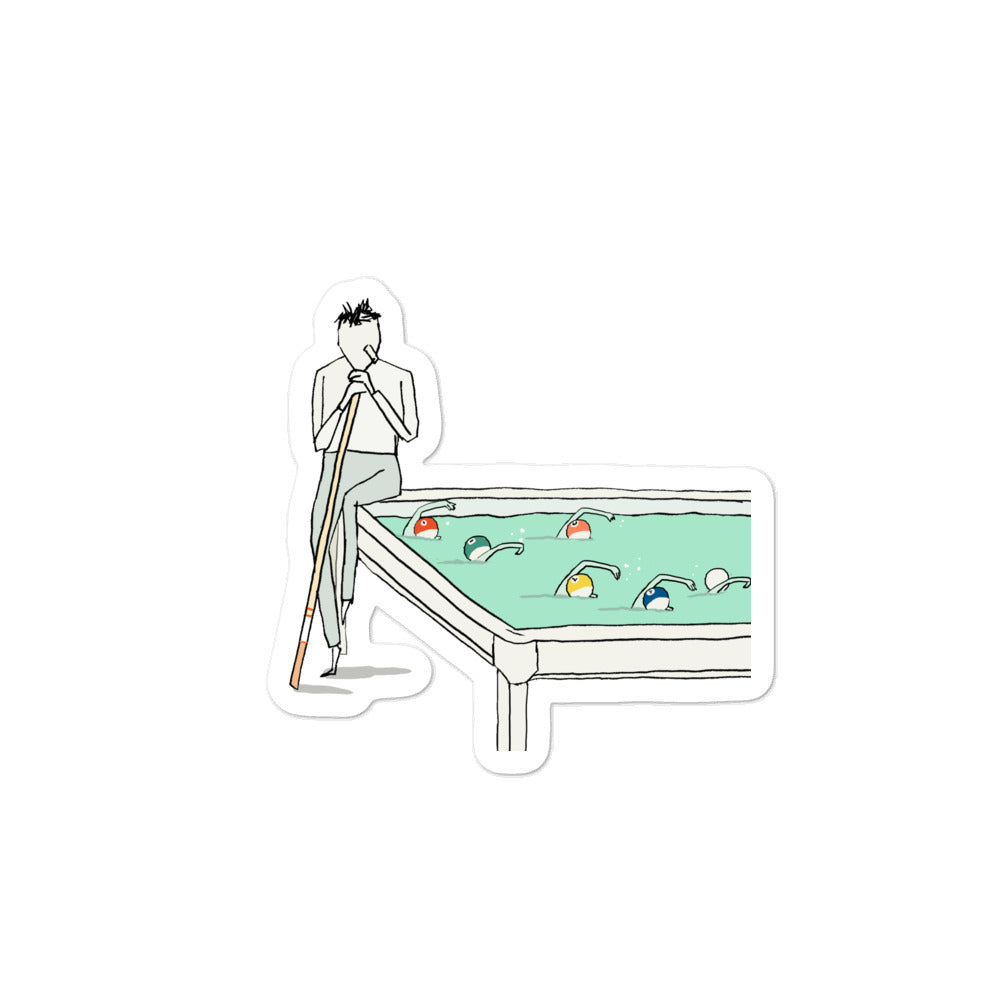 Pool Sticker (Bubble-free)