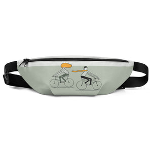 Orange Love Fanny Pack