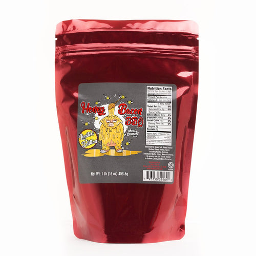 Meat Church Honey Bacon BBQ 1 LB Bag