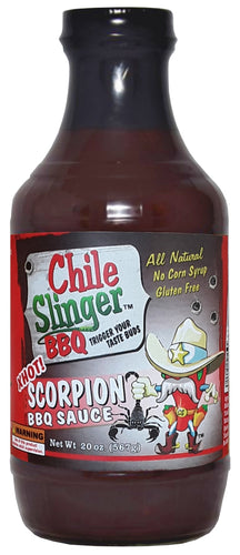 Chile Slinger X-HOT Scorpion BBQ Sauce