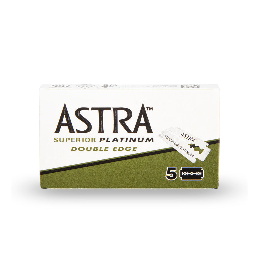 DOUBLE EDGE SAFETY RAZOR BLADES - ASTRA