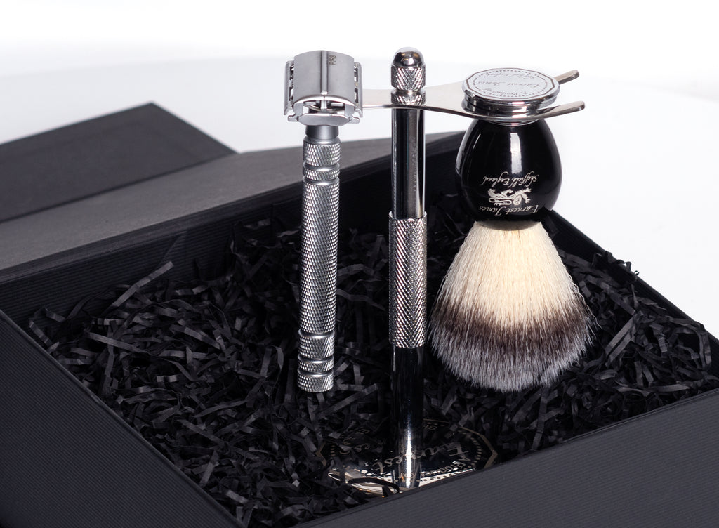 "The ""Spear of Odin"" Safety Razor Set"