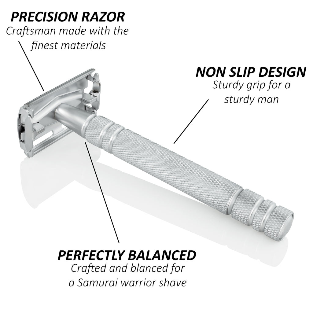 "The ""Spear of Odin"" MK010 Butterfly Razor"