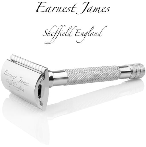 """ Longshanks "" Extra Long"" Handle MK001 Safety Razor - Earnest James Sheffield England"