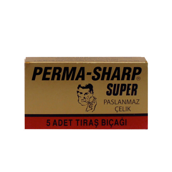 DOUBLE EDGE SAFETY RAZOR BLADES - Perma Sharp