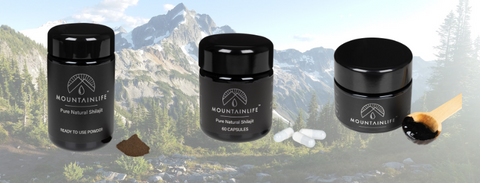 Mountainlife Resin Mountainlife Powder Mountainlife Capsules