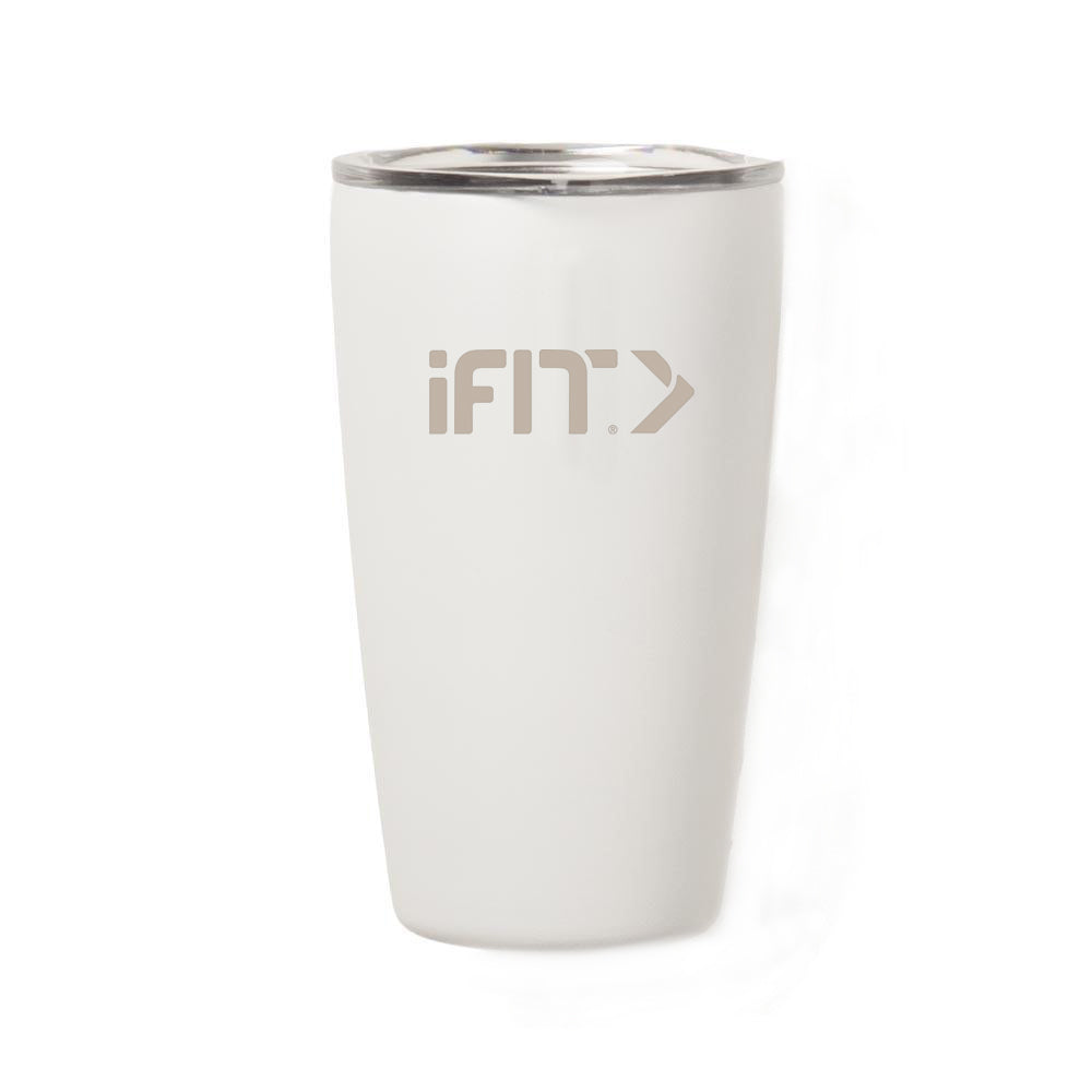 iFit 16oz White Tumbler by Miir