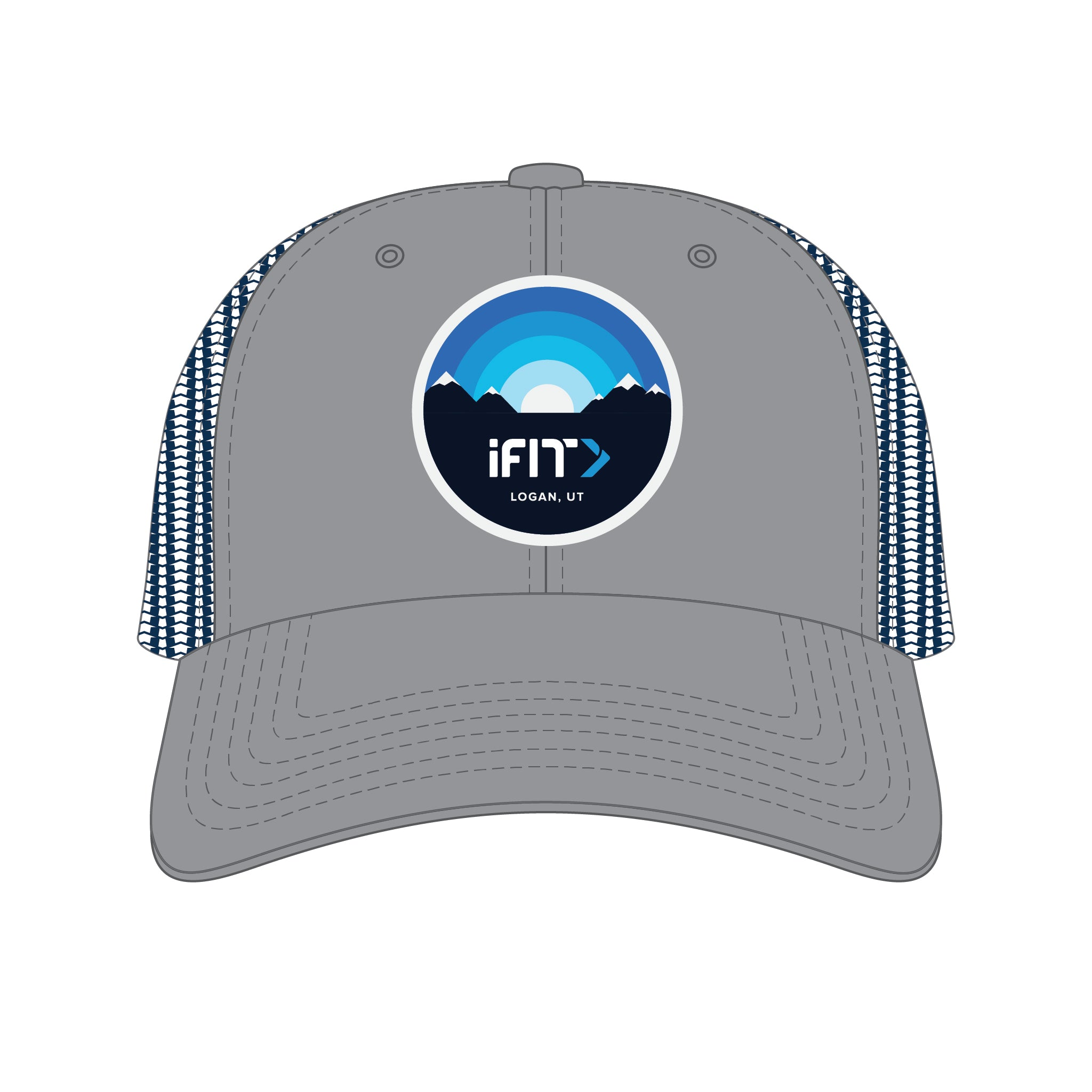 iFit Pre Curved Trucker Hat