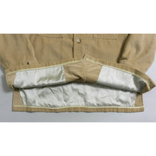 Load image into Gallery viewer, VINTAGE CORDUROY SHIRT JACKET | TAN | S/M