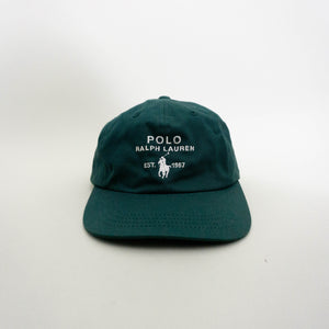 VINTAGE POLO RALPH LAUREN CAP | HUNTER GREEN