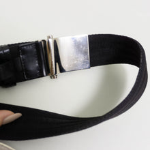 Load image into Gallery viewer, PRADA NYLON BELT | BLACK | SIZE 95/38