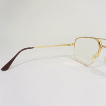 Load image into Gallery viewer, 1980'S KARL LAGERFELD MINIMALIST OPTICAL AVIATOR GLASSES | GOLD