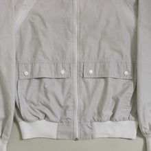 Load image into Gallery viewer, VINTAGE PIERRE CARDIN TRACK BOMBER | POWDER GRAY | S/M